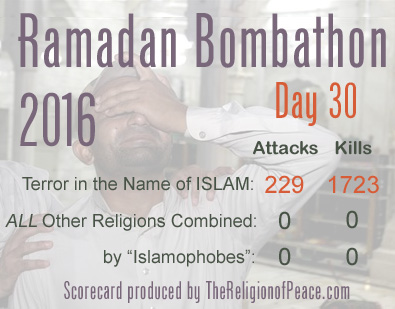 Ramadan death toll for 2016