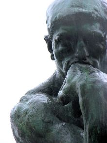 The thinker - Philosophical