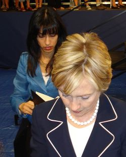 Hillary Clinton, followed by Huma Abedin. Green Valley High School - Henderson, NV 208