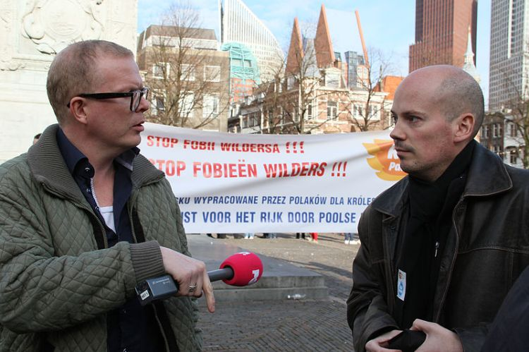 Jan Roos (columnist): The sign is saying STOP the Geert Wilder's 'phobias'