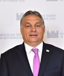 Viktor Orbán, Hungary, Prime Minister, Sept 2016