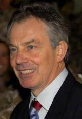 Former PM Tony Blair, July 21 2007