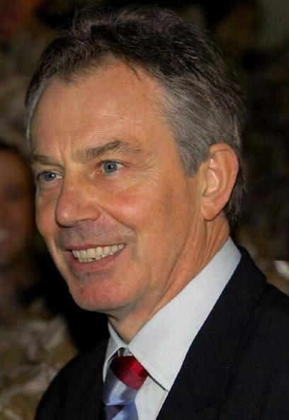Former PM Tony Blair, July 21 2007