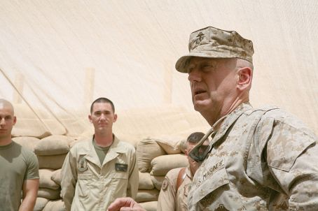 Lt. Gen. James Mattis, the commander of U.S. Marine Corps Forces Central Command, 2007