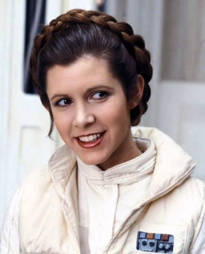 princess-leia carrie fisher