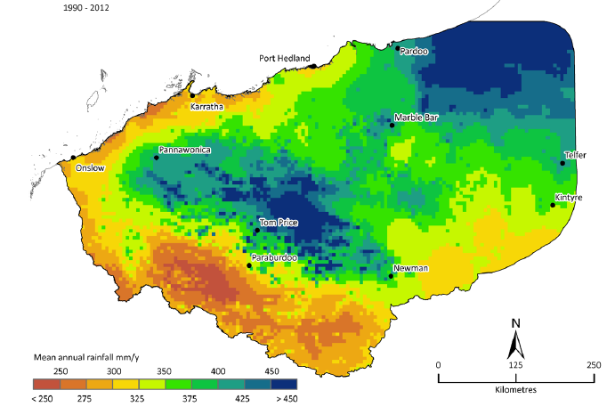 pilbara-rainfall-map