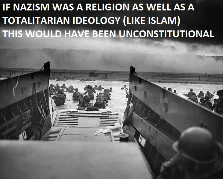 d-day-omaha-beach-nazis-islam-unconsitutional
